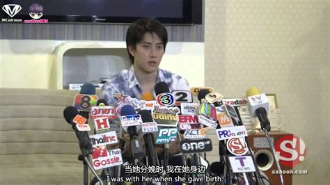 [ENG&CHN] Press Conference: Mike admits he is a daddy now