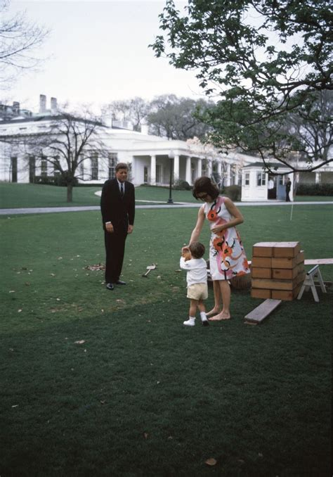 Children's party on the South Lawn - John F