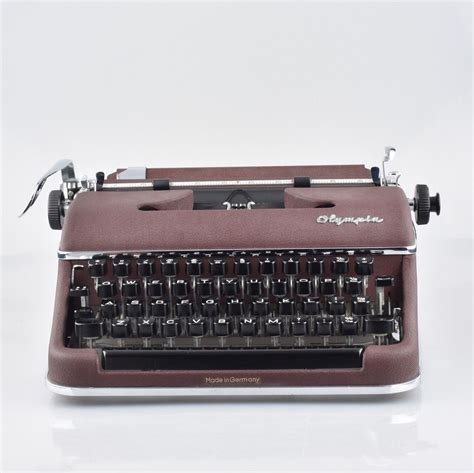 Olympia SM2 in Burgundy - the Early SM3 version like used