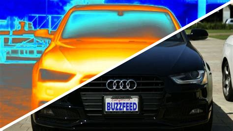 Do Black Cars Really Get Hotter? - YouTube
