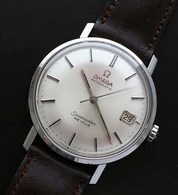 Omega Seamaster date vintage automatic watch circa 1967