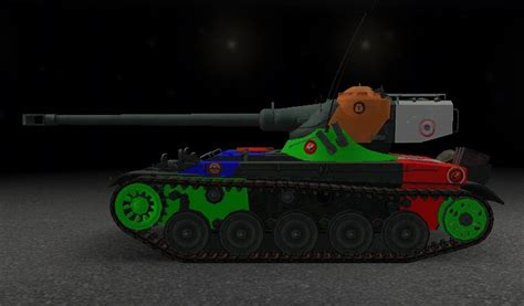 WOTINFO - Weak points and vehicle data of AMX 13 75
