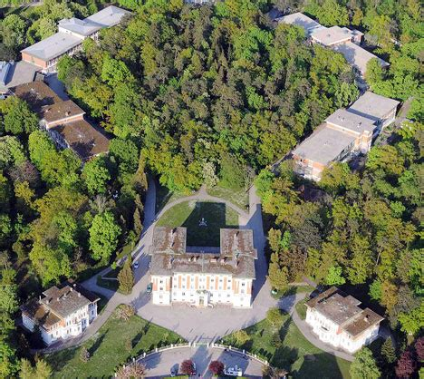 Pictured: The psychiatric hospital from where Fritzl's