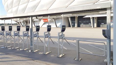 New ticket readers at Arena turnstiles : Official FC