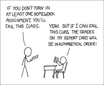 It's no worse than aiming to get your GPA to equal pi