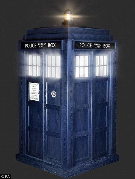 Doctor Who's Tardis gets a makeover as St John Ambulance