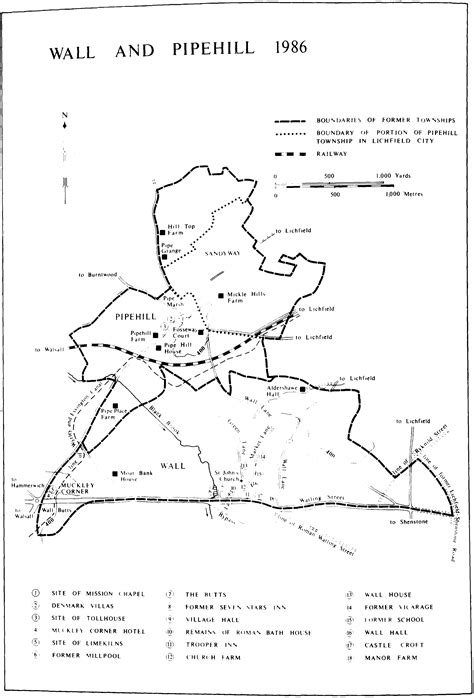 Townships: Wall with Pipehill | British History Online