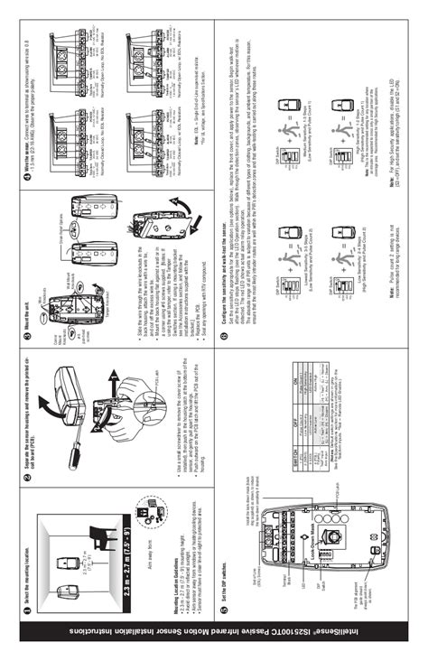 Honeywell is25100tc-install-guide