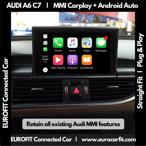 AUDI A6 A7 C7 (Years 2011-2019) Apple Carplay Android Auto