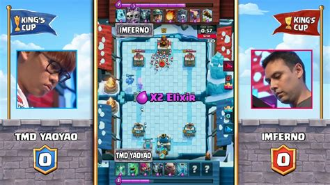 TMD YaoYao vs Imferno | Clash Royale Tournament King's Cup
