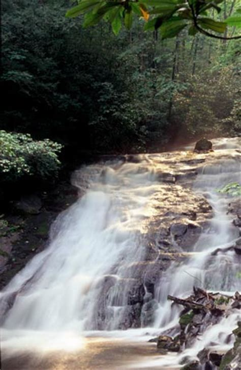 Indian Creek and Toms Branch Falls - Great Smoky Mountains