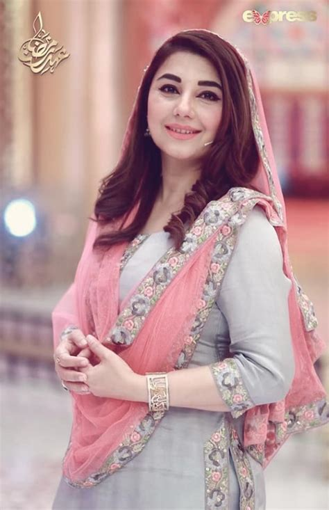 Beautiful Clicks of Javeria Saud with her Family in