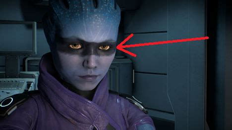 Request - Remove Black Rectangle From Peebee's Face