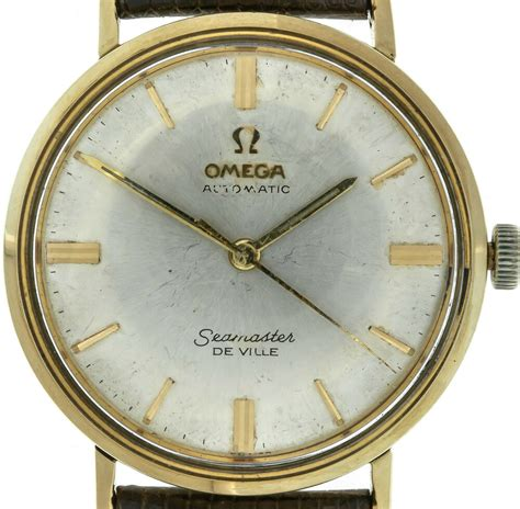 Omega Seamaster Deville 14k Yellow Gold Watch Cal 550