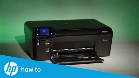 Fixing a Carriage Jam | HP Photosmart e-All-in-One Printer
