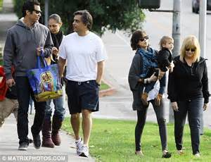 Jessica Alba beams as she takes her daughter to the park