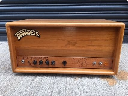 Trainwreck Liverpool 1992 Natural Cherry Amp For Sale