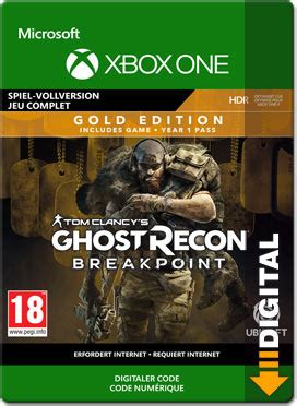 Ghost Recon Breakpoint - Gold Edition [Xbox One-Digital