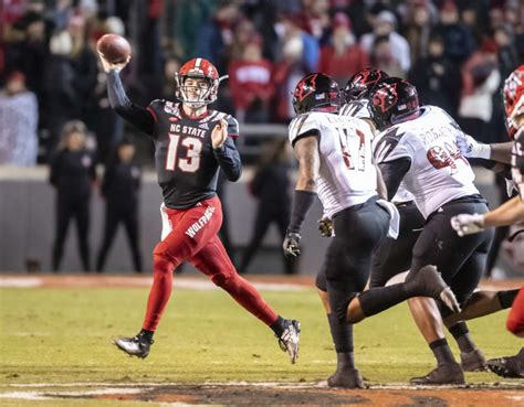 NC State Wolfpack football QB Devin Leary ready to attack