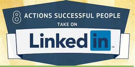 8 Actions to Take on LinkedIn Every Day [Infographic