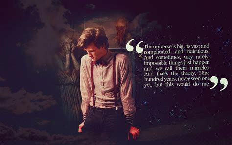 11th Doctor Sad Quotes