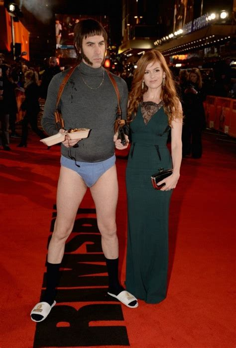 Sacha Baron Cohen Goes Pantsless in NSFW Appearance at