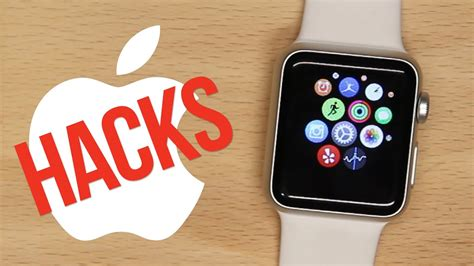 7 Apple Watch Hacks You Need To Know - YouTube