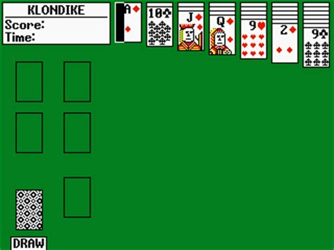 Solitaire: Klondike and FreeCell (build 1054) - ticalc