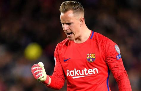 Marc-Andre ter Stegen has named the top five goalkeepers