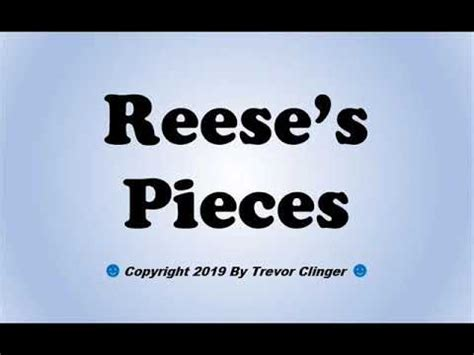How Do You Pronounce Reeses