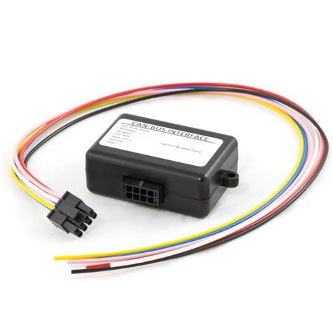 CAN bus interface to convert the information for ignition