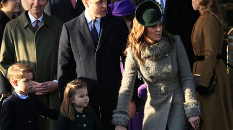 Prince George, Princess Charlotte Join Queen for Christmas