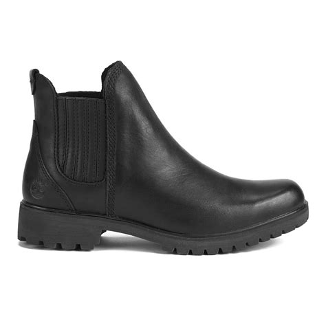 Timberland Women's Lyonsdale Leather Chelsea Boots - Black