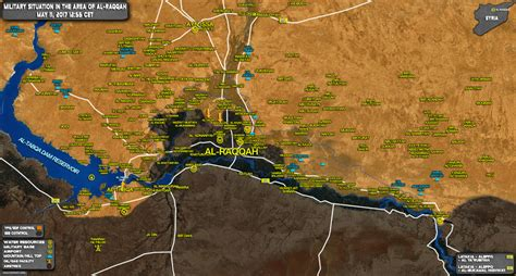 Military Situation In Raqqah Countryside On May 11, 2017