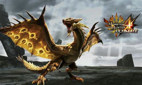 MH4U Online Gameplay 007 : Gold Rathian is waiting for us