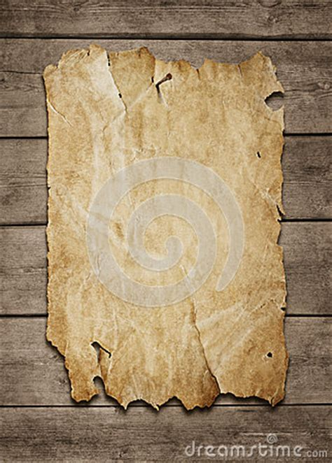 Blank Poster At Wooden Background Stock Images - Image