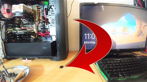 How To Install - A Custom PC power switch? (On Your Desk