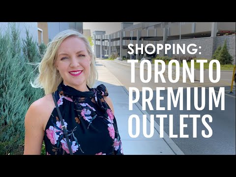 Teeming crowds and designer discounts at Toronto's newest