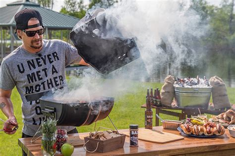 Kid Rock Unveils 'American Badass Grill' Made Entirely in